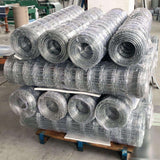 Galvanized wire mesh fencing