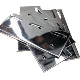 PVC Hardware Overlap Strip Curtain Door Mounting Bracket SS 1000MM