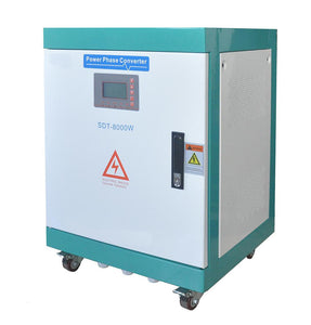 8KW static phase converter