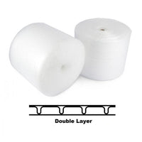 2x Bubble Wrap Roll 500mm x 40m - P10 Heavy-Duty Double-Sided