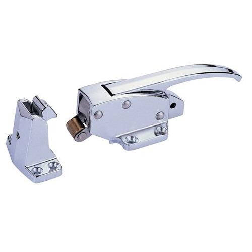 Chrome door latch