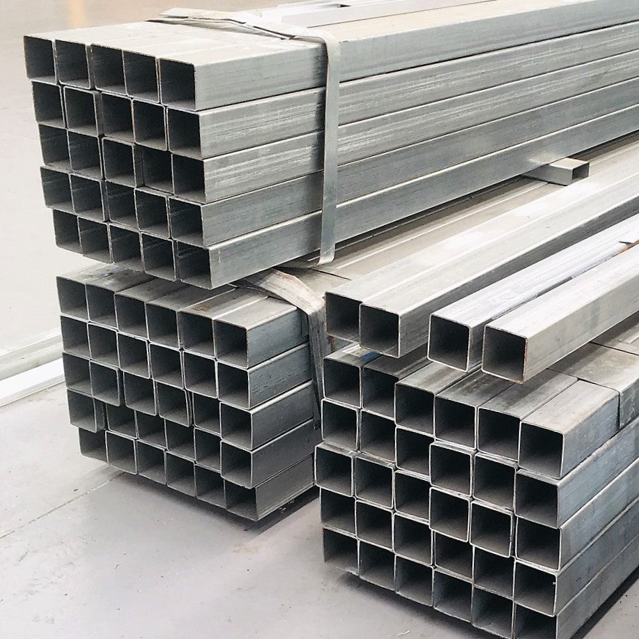 Shs Galvanized Steel Square Hollow Section 50 X 50 X 2 Mm Buy Online Ozsupply