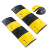 2m Rubber Speed Bumps with End Section