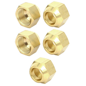 "10PCS Forged Flare Nuts 1/2"" 1/4"" 3/4"" 3/8"""