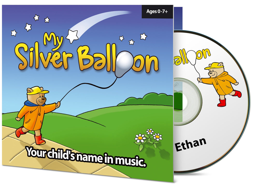 Personalised Music CD My Silver Balloon Album 1