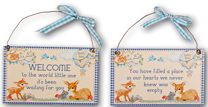 Baby Welcome Signs