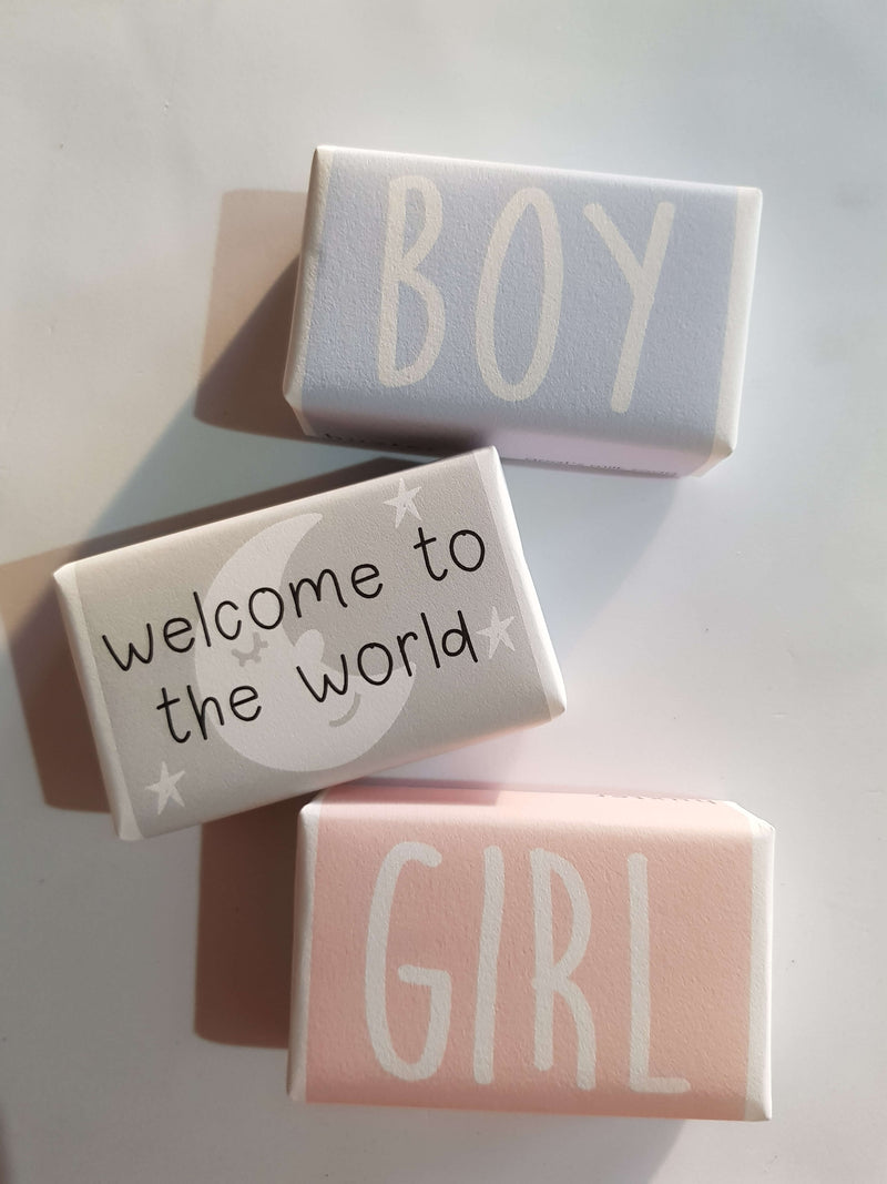 Welcome to the World Baby Soap