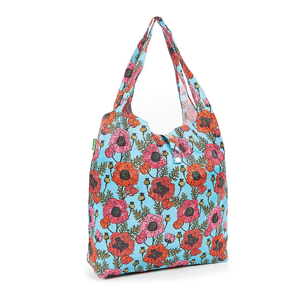 Foldaway Shopping Bag Poppies
