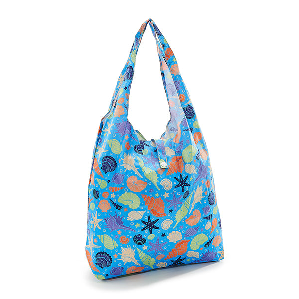 Foldaway Seashells Shopping Bag