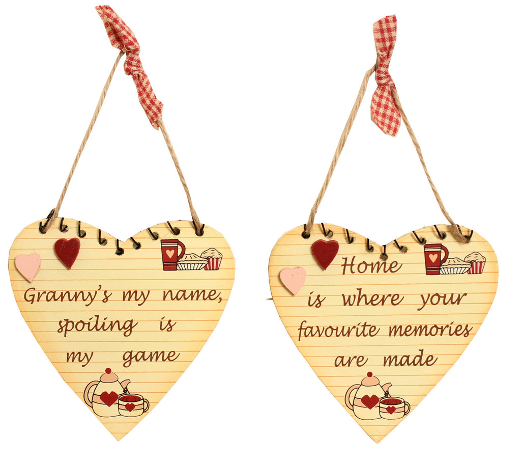 Kitchen small Heart Hanger