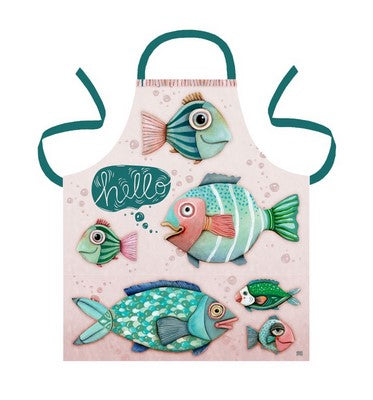 Under the Sea  Fish Tea Towel