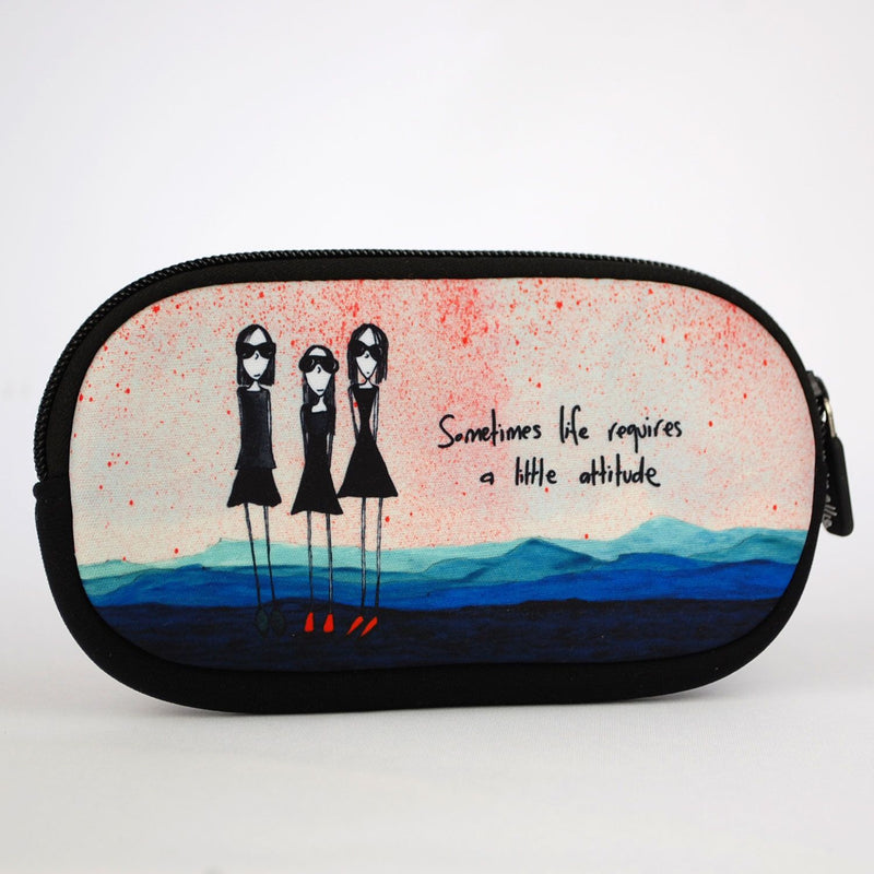 Sunglasses Case Attitude