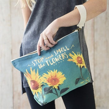 Canvas Carryall- Smell the Flowers