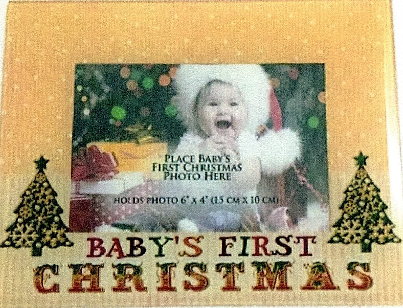 Photo Frame Baby's First Christmas