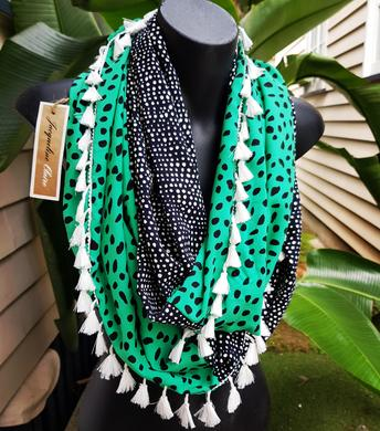 Spearmint & Black Wrap