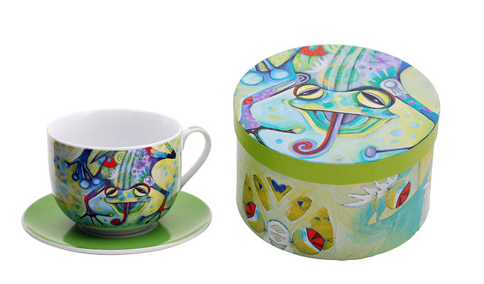 Frog Cup & Saucer