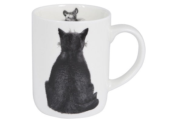 Cat Mug Watching