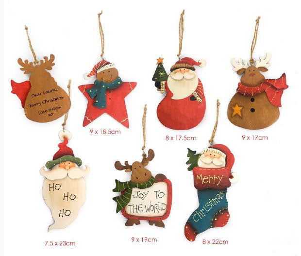 Shaped Christmas Tags