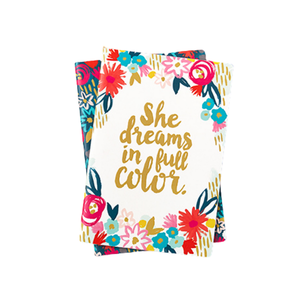 She Dreams in Colour Notebooks
