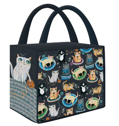 Crazy Cats Shopping Bag