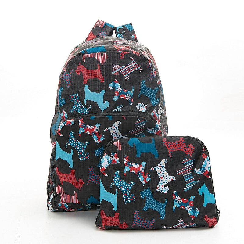 Foldable Backpack Scotty Dog