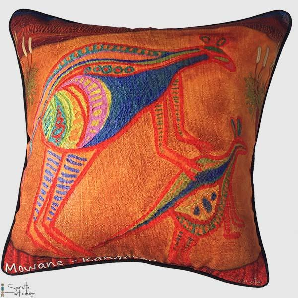Totem Cushion Cover Kangaroo