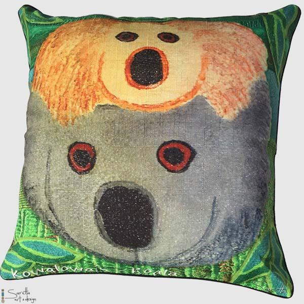 Totem Cushion Cover Koala