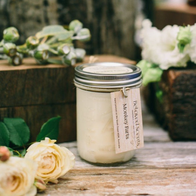 Fragrant Mason Candles- 6 Fragrances