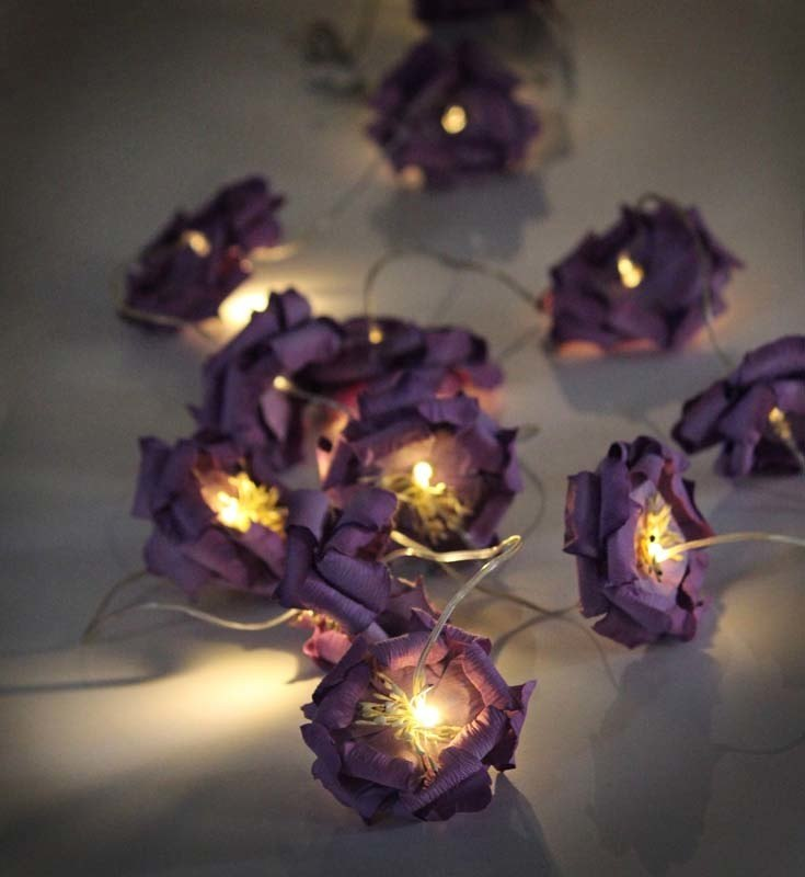 Lilac Rose Lights chain.