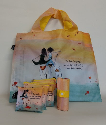 To live Happily Eco Shopping Bag