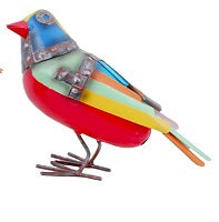 Bonpari Metal Bird  RED 21cm
