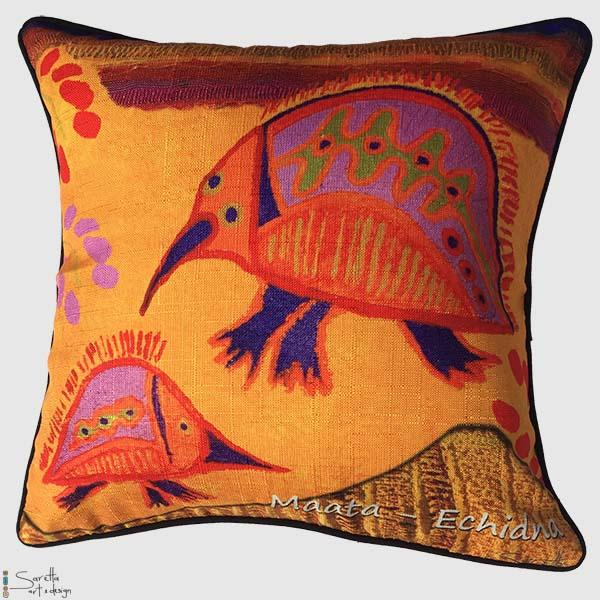 Totem Cushion Cover Echidna
