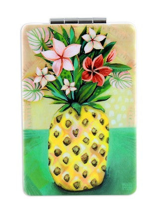 Pineapple Compact Mirror
