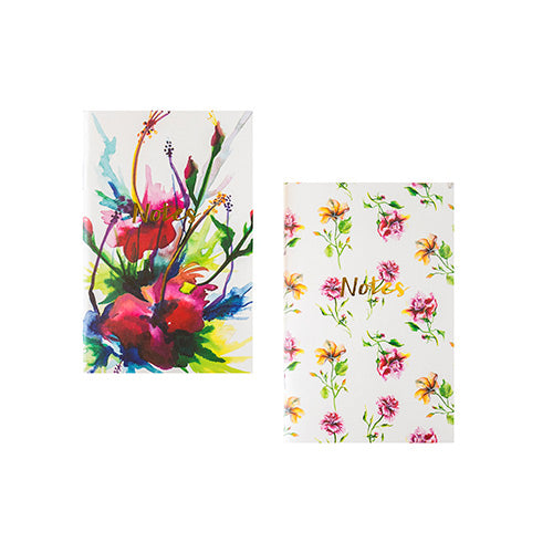 Floral Note Books