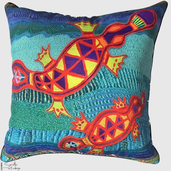 Totem Cushion Cover Platypus