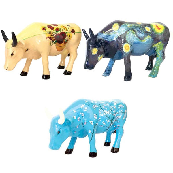 Cow Parade Collector Artpack Van Gogh