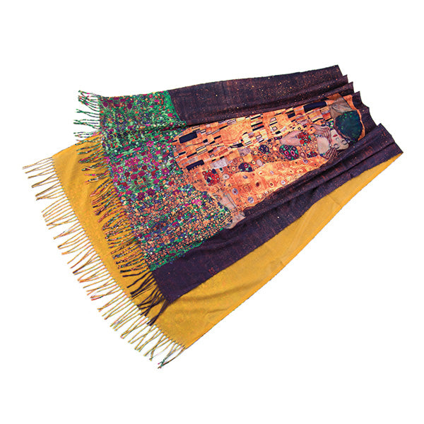 Brown-Yellow Scarf