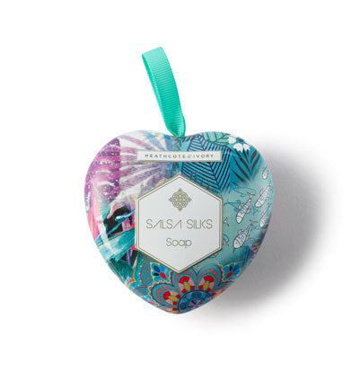 Vintage & Co Salsa Silks Heart Soap