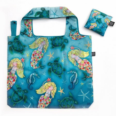 Foldable Mermaid Shopping Bag