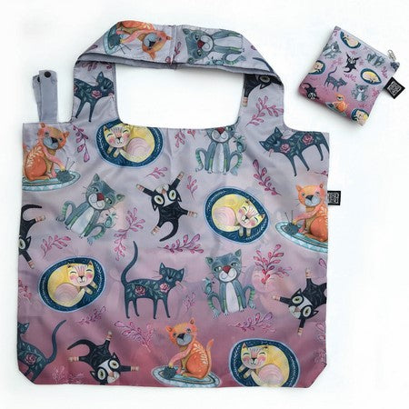 Foldable Cat Shopping Bag