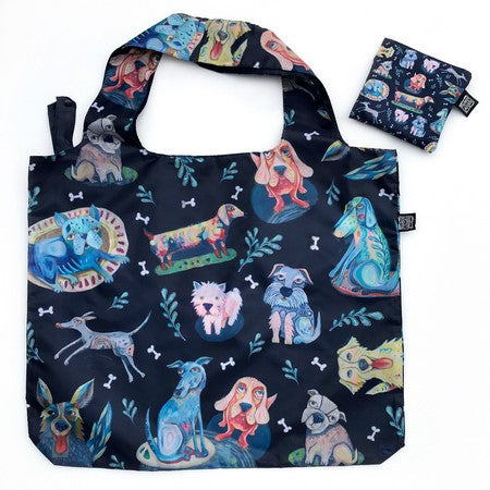 Foldable Dog Shopping Bag
