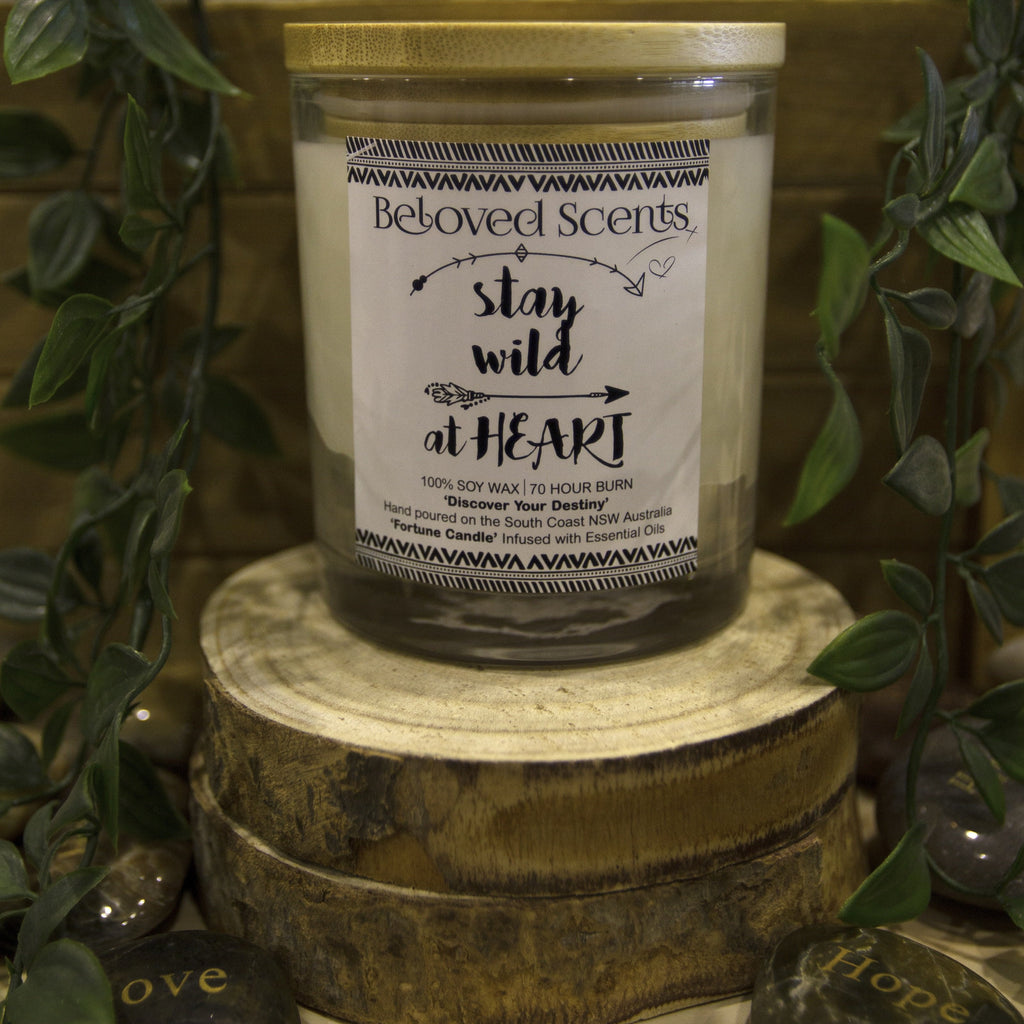 Stay Wild at Heart Candle
