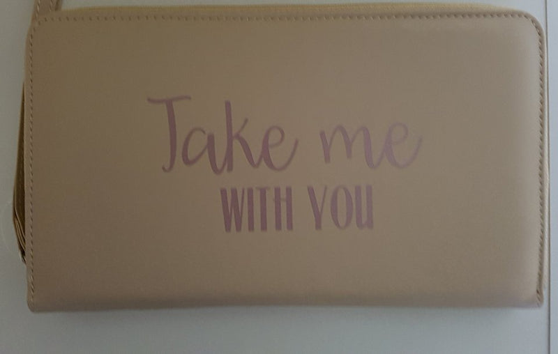 Document Wallet Take me with you