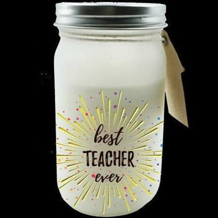 Teacher Candle Jar 11cm