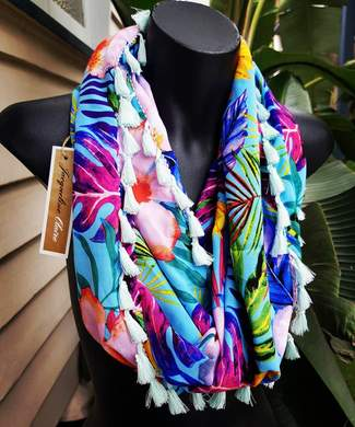 Tropical Leaf Wrap