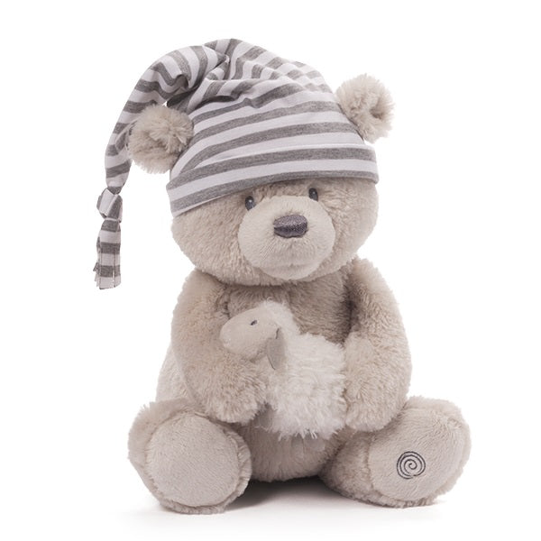 Gund Sleeptime Animated Bear 38cm