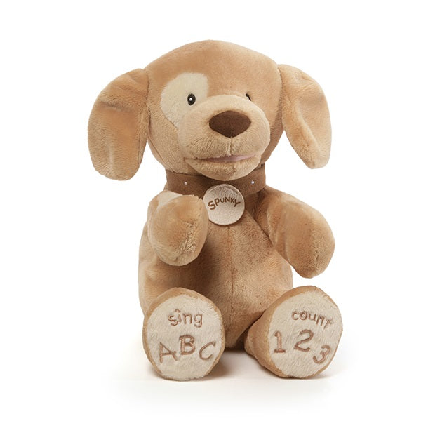 Gund Spunky Tan Dog