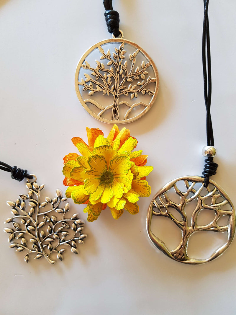 Vintage Tree of Life Pendants