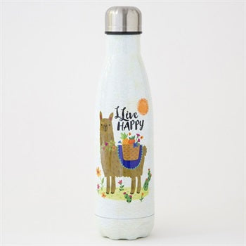 Water Bottle 500ml  Live Happy