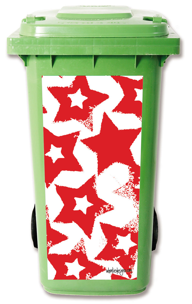 Christmas Red Star Design